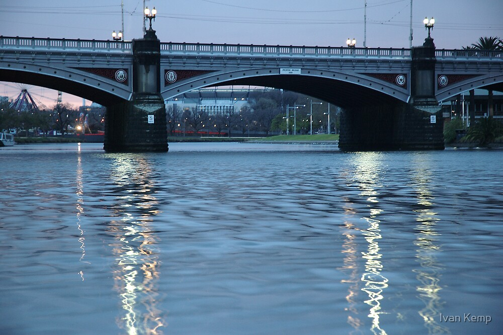 Princes St Bridge on a Sunday Morning by Ivan Kemp