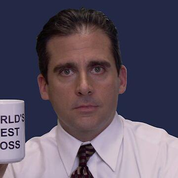 """Michael Scott """"worlds best boss"""" by astralfeather"""