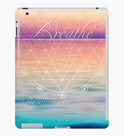 Breathe - Life Reminders iPad Case/Skin