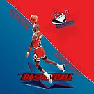Michael Jordan Basketball by Antonio  Luppino