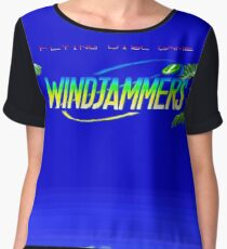 Windjammers (Neo Geo Title Screen) Women's Chiffon Top
