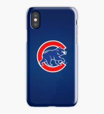 Chicago Cubs logo II iPhone Case/Skin