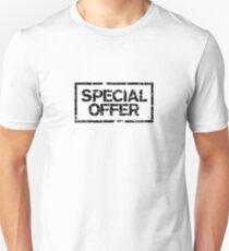 Special Offer (Black) Unisex T-Shirt