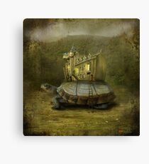 """Wandering Museum"" Canvas Print"
