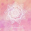 Namaste - Rose Quartz by CarlyMarie