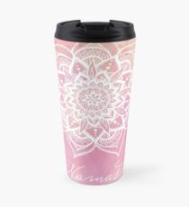 Namaste - Rose Quartz Travel Mug