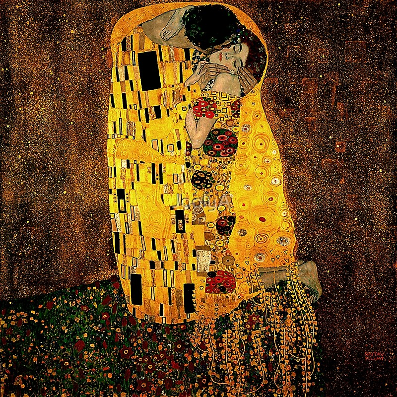 Gustav Klimt The Kiss\