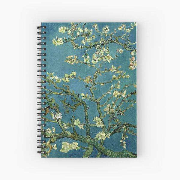 Van Gogh Almond Blossoms Spiral Notebook