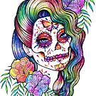 Daydreamer | Sugar Skull Girl by MissCarissaRose