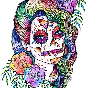Daydreamer | Sugar Skull Girl by MissCarissaRose