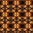 Tribal Lights Geometric Pattern by webgrrl