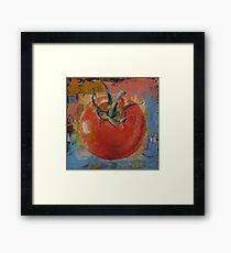 Vine Tomato Framed Print