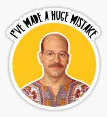 I've made a huge mistake - Tobias Sticker