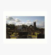Holywood Priory Church Art Print