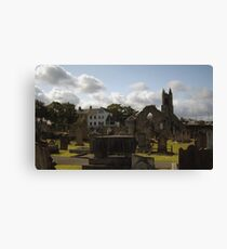 Holywood Priory Church Canvas Print