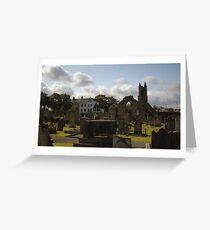 Holywood Priory Church Greeting Card
