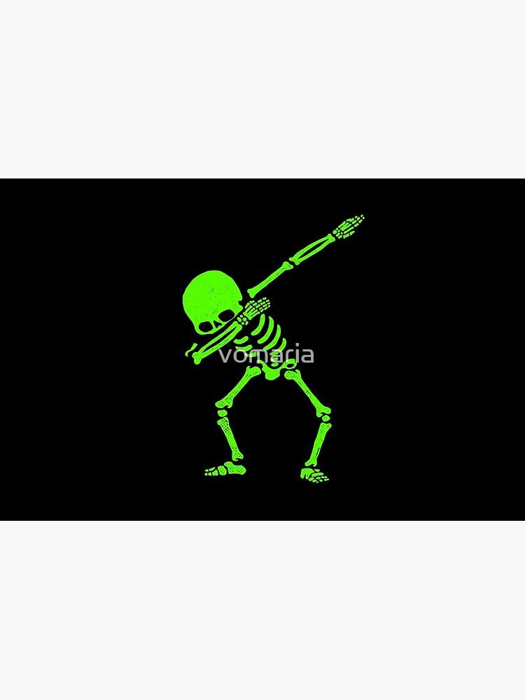 Skeleton Grün abtupfen von vomaria