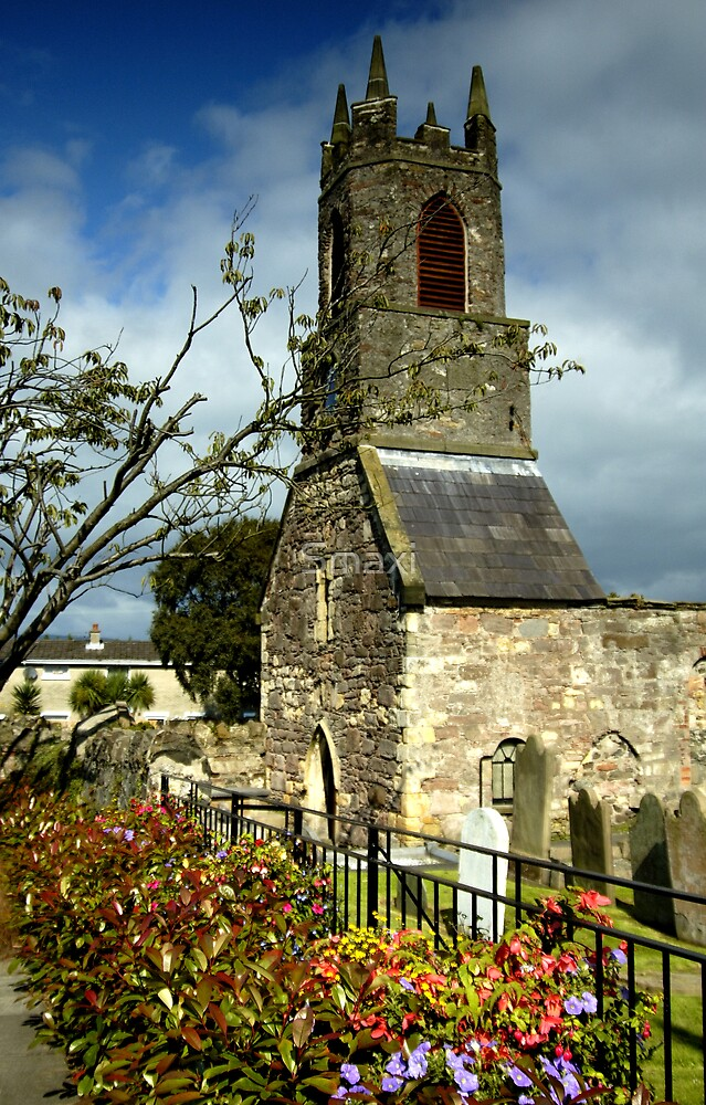 Clock Tower, Holywood Priory Church by Smaxi