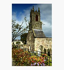 Clock Tower, Holywood Priory Church Photographic Print