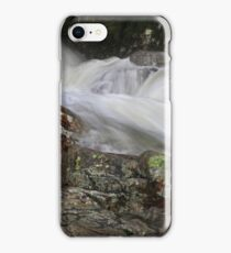 Water Sculpture at Stickle Ghyll,Great Langdale iPhone Case/Skin