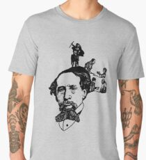 The Imagination Of Charles Dickens Men's Premium T-Shirt