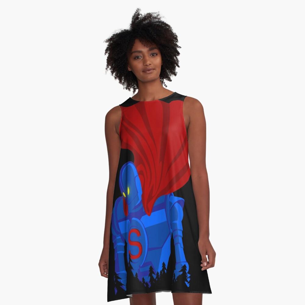 SUPER GIANT A-Line Dress Front