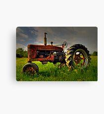 Farmall Field Of Green Canvas Print