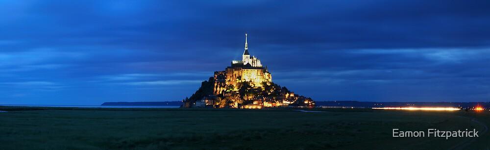MONT ST MICHEL, FRANCE by Eamon Fitzpatrick