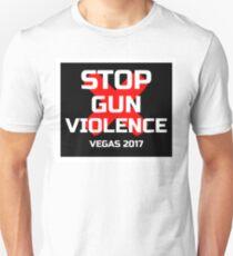 Stop Gun Violence Vegas 2017 T-Shirt