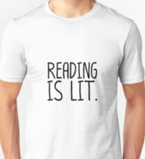 Reading Is Li Unisex T-Shirt