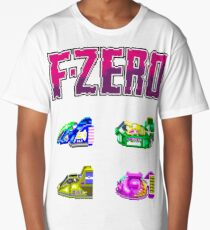 F-Zero (SNES) Long T-Shirt