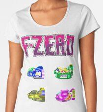 F-Zero (SNES) Women's Premium T-Shirt