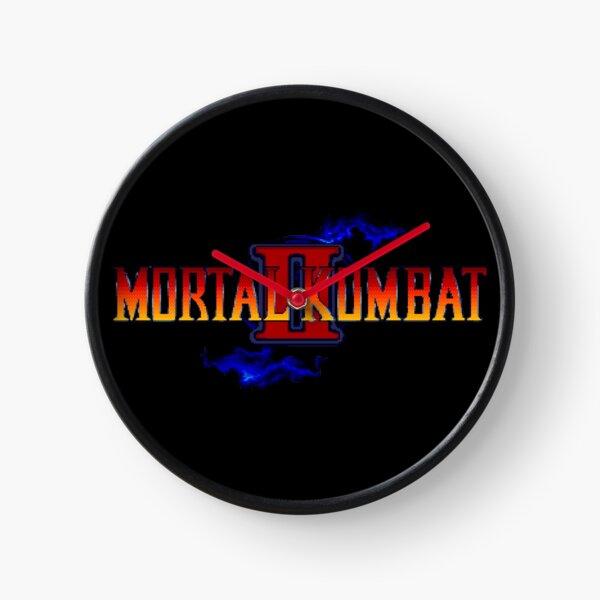 Mortal Kombat 2 (Genesis Title Screen) Clock