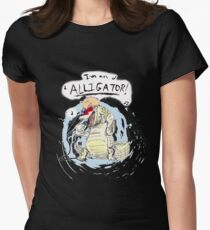 Moonage Daydream Women's Fitted T-Shirt