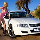 Hot Girls love Hot Cars by Nigel Donald