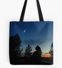 Krieger Katzen - Silhouette Tasche