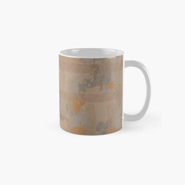 Orange Watercolor Classic Mug