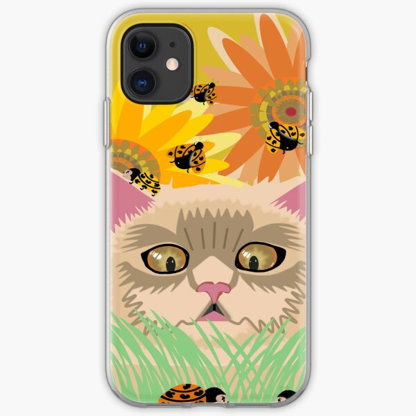 Too Many Ladybugs Pastel iPhone Soft Case