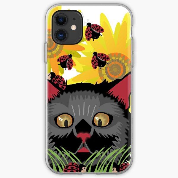 Too Many Ladybugs iPhone Soft Case