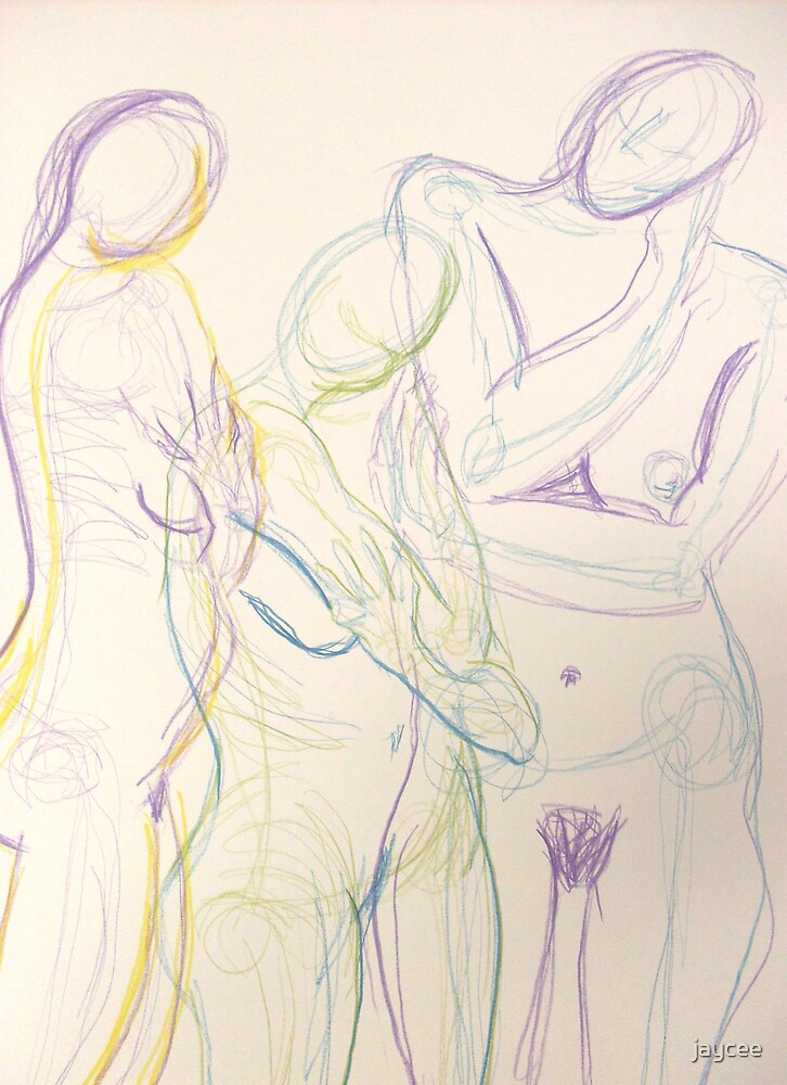 Life drawing three by jaycee