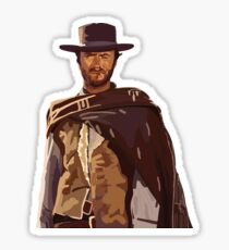 Man with No Name Sticker