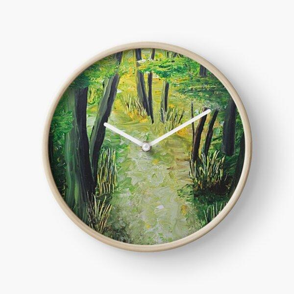 Spring Path Clock