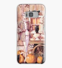The Cats' lady Samsung Galaxy Case/Skin