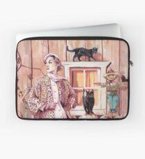 Die Dame der Katzen Laptoptasche
