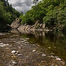The River Garry at Killiekrankie by Cliff Williams