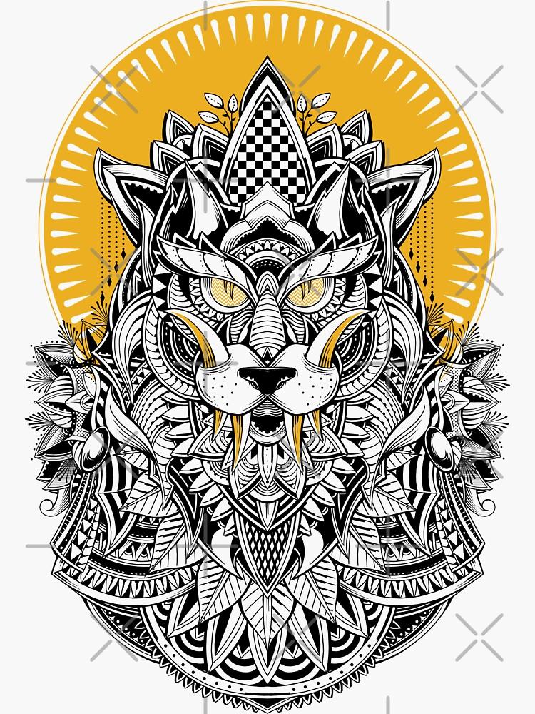 Alpha Wolf by GODZILLARGE