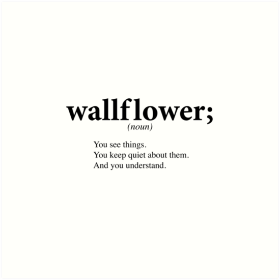 Wallflower by mermaidreads