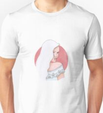 Blond haired anime style girl T-Shirt