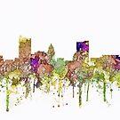 Fort Wayne, Indiana-Skyline SG - verblaßter Ruhm von Marlene Watson