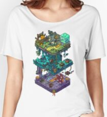 Dungeons and Isometric Dragons Women's Relaxed Fit T-Shirt